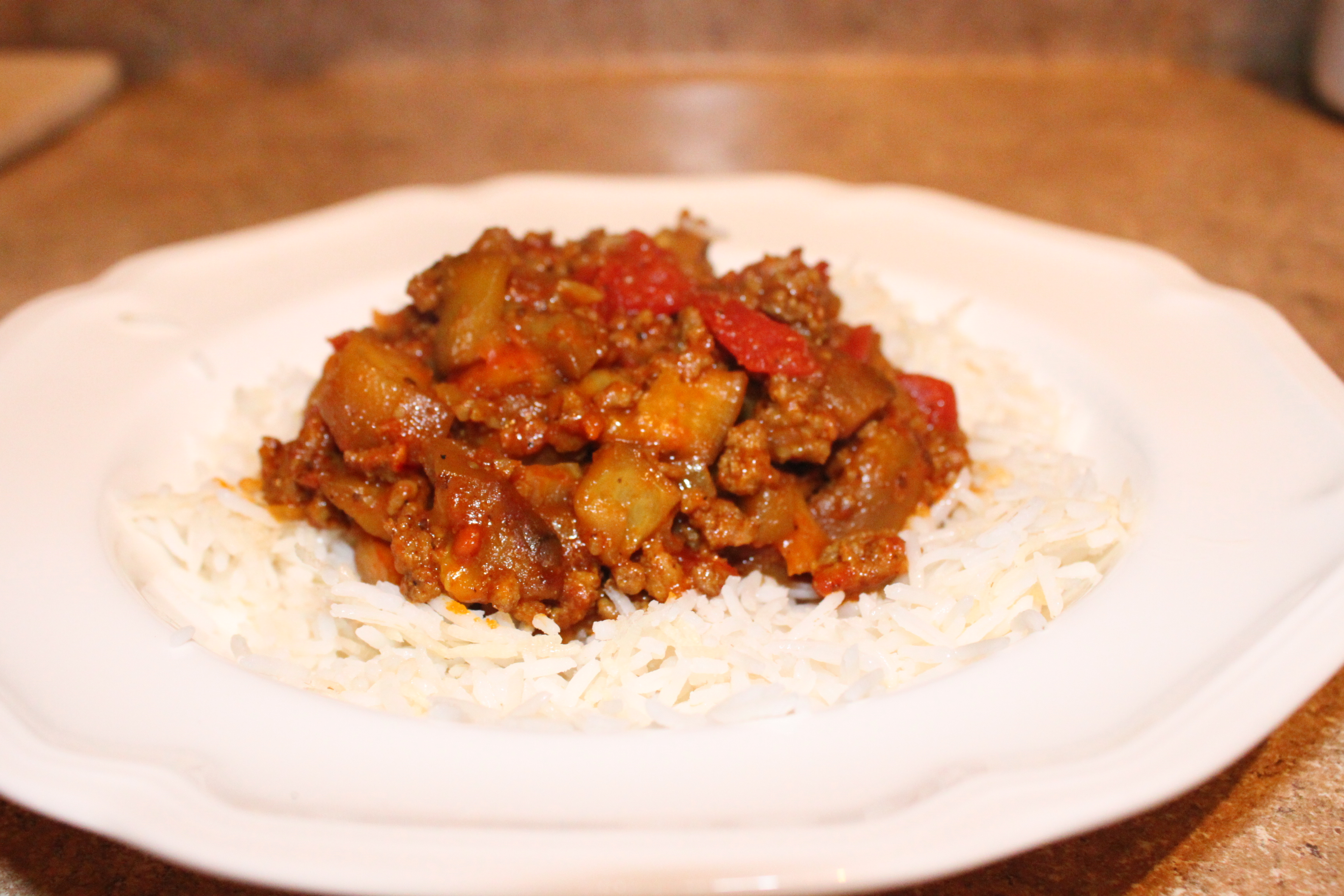 Persian eggplant stew real girl recipes eggplant khoresht 071 forumfinder Image collections