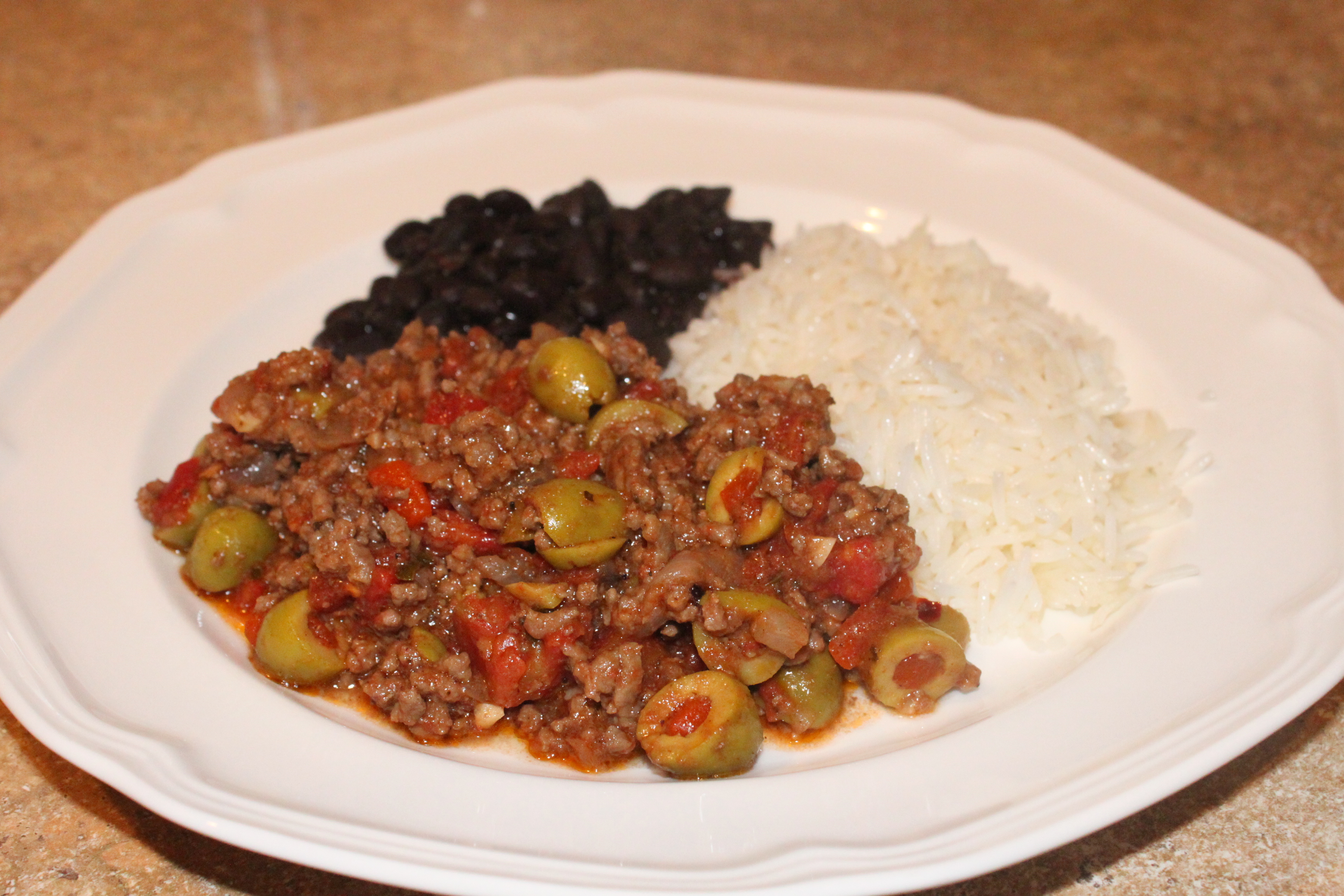 Cuban Style Picadillo | real girl recipes